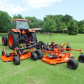Land pride all flex mower