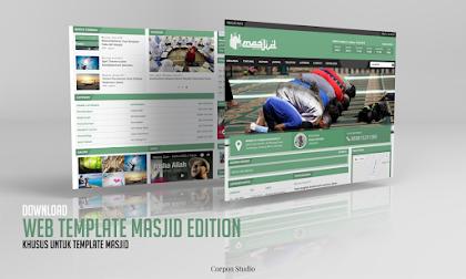 Download Gratis Template Web Masjid