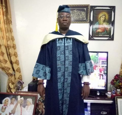 OPC Leader, Gani Adams Graduates From LASU With A Degree In Political Science (Photo)