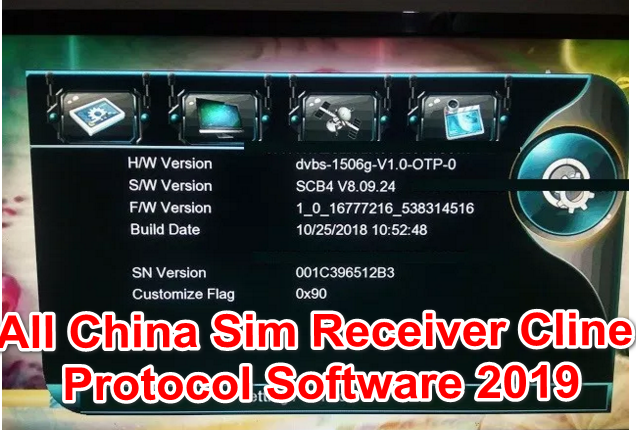 All China Sim Receiver Cline Protocol Software 2019 - Allsatinformation