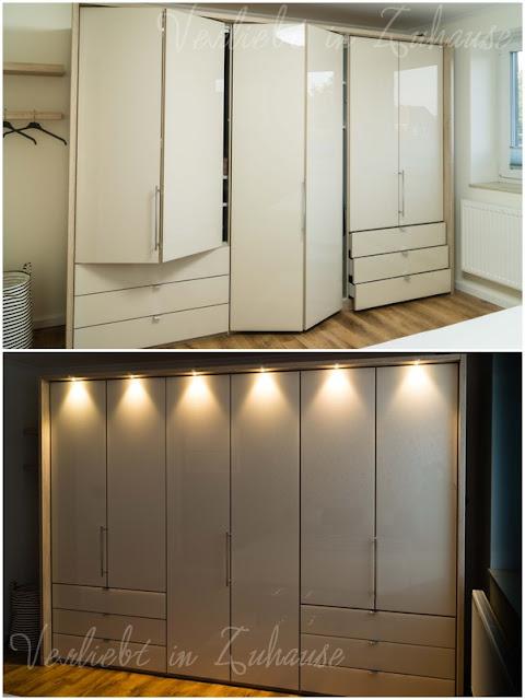"Lieblingsecke Schlafzimmer: Falttürenschrank ""Loft"" mit Passepartout und LED-Beleuchtung"