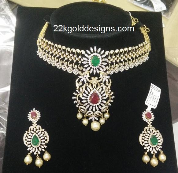 Bridal 18k Diamond Necklace