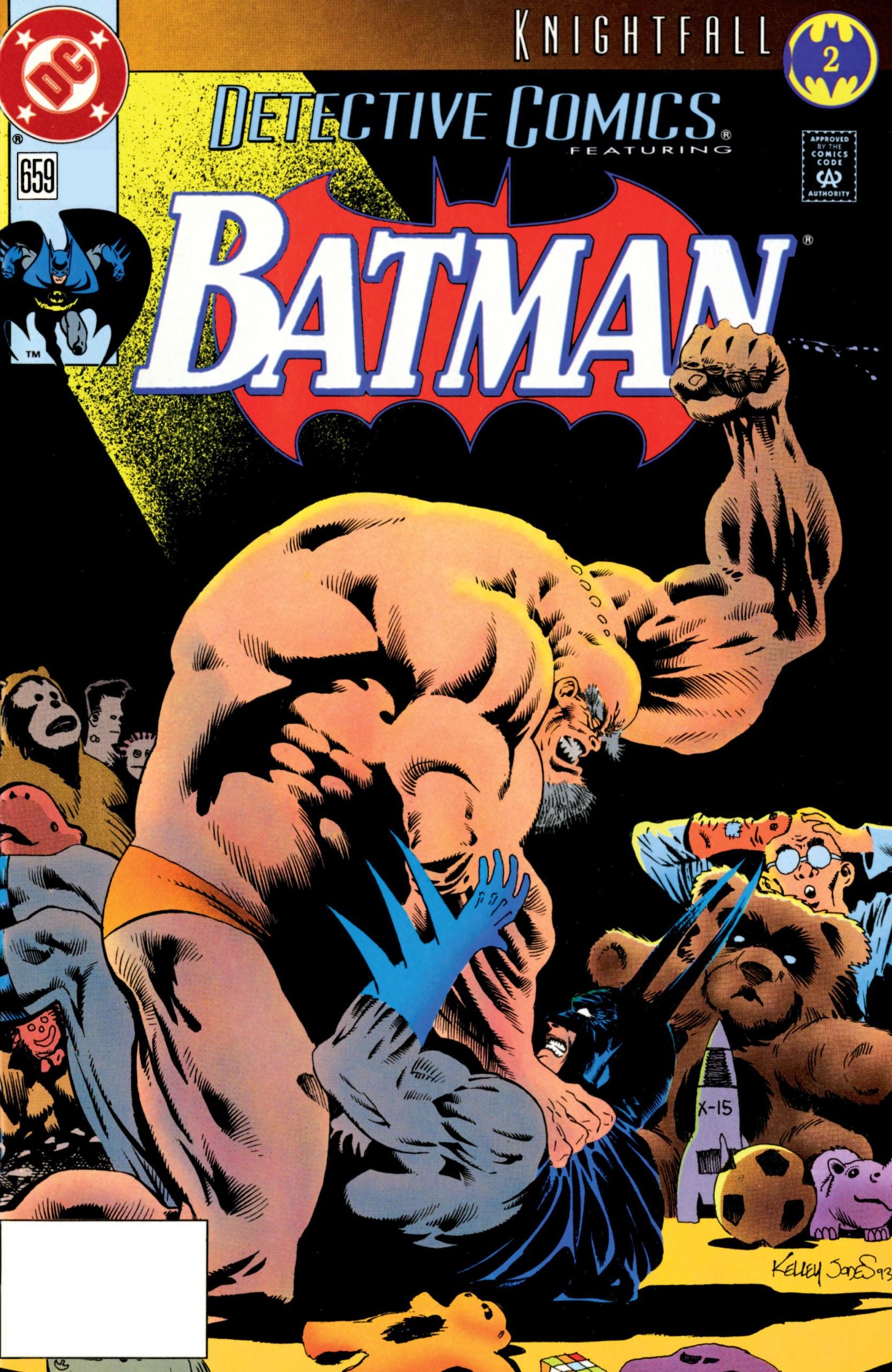 Detective Comics (1937) 659 Page 0