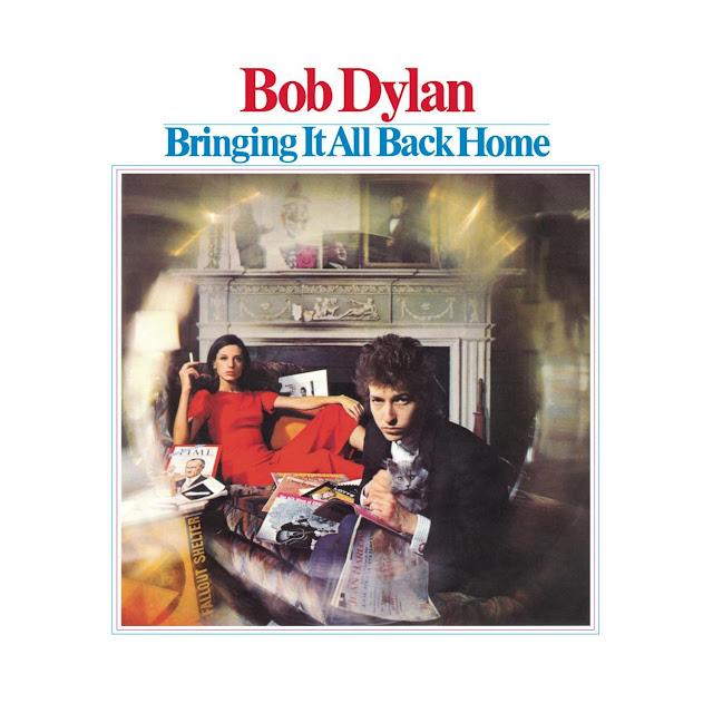 """Okładka płyty, na której Dylan """"podłączył się do prądu""""/Columbia"""