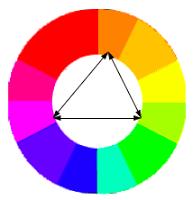 Komposisi warna dalam desan grafis