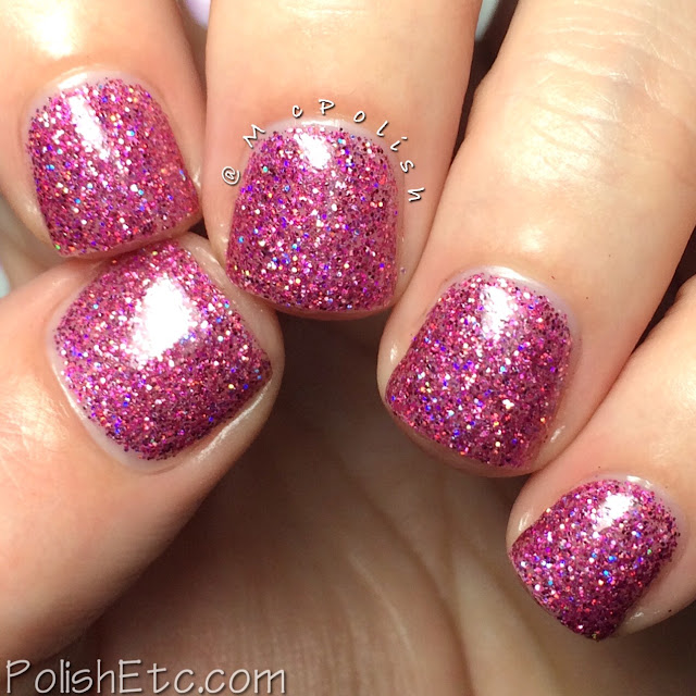 The Pink Cart Nail Art Trio from Native War Paints - McPolish - Conquer