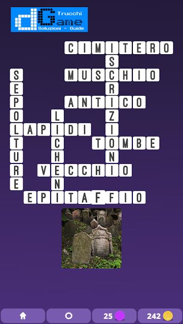 Soluzioni One Clue Crossword livello 9 schemi 10 (Cruciverba illustrato)  | Parole e foto