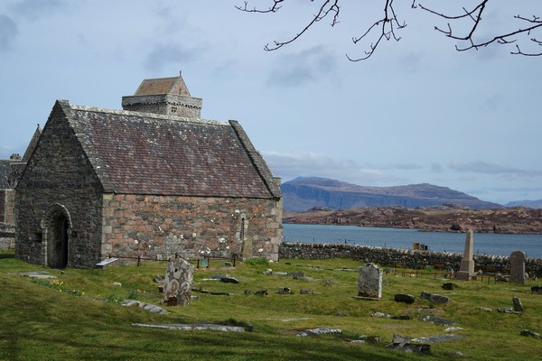 écosse highlands île mull iona chapelle