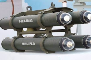 Helina 'Anti-tank Missile' successfully Flight Tested in Odisha