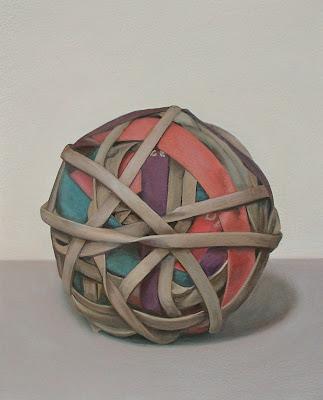 Sandy Wilcox, Rubber Band Ball #1