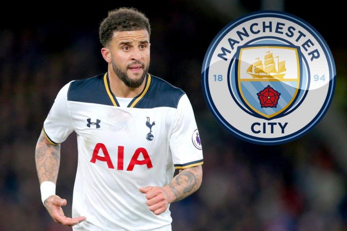 Manchester City agree Kyle Walker record deal