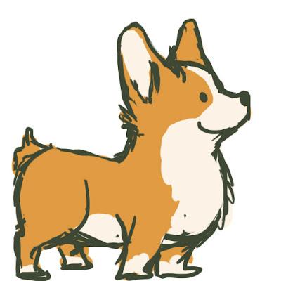 Cute dog drawings tumblr - photo#51