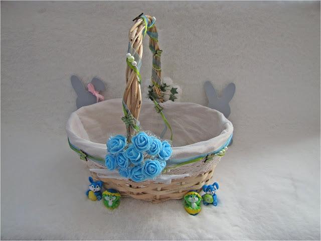 Wielkanocne DIY: ozdabianie koszyczka
