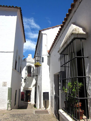 Andalusian White Village in The Poble Espanyol