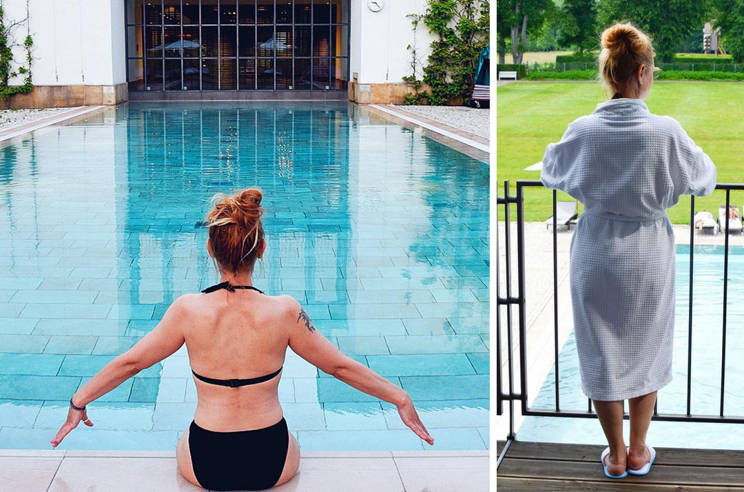 Wellness Bereich Hotel Gräflicher Park Grand Resort