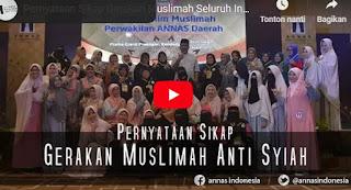 Video Pernyataan Sikap Gerakan Muslimah Seluruh Indonesia terhadap Aliran Syiah