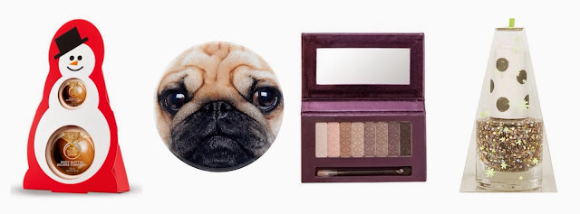 Christmas-beauty-gift-guide-body-shop-pug-mirror-no7-palette-topshop-nail polish