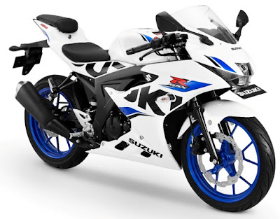 Suzuki GSX-R150 - Brilliant White-CW Vigor Blue
