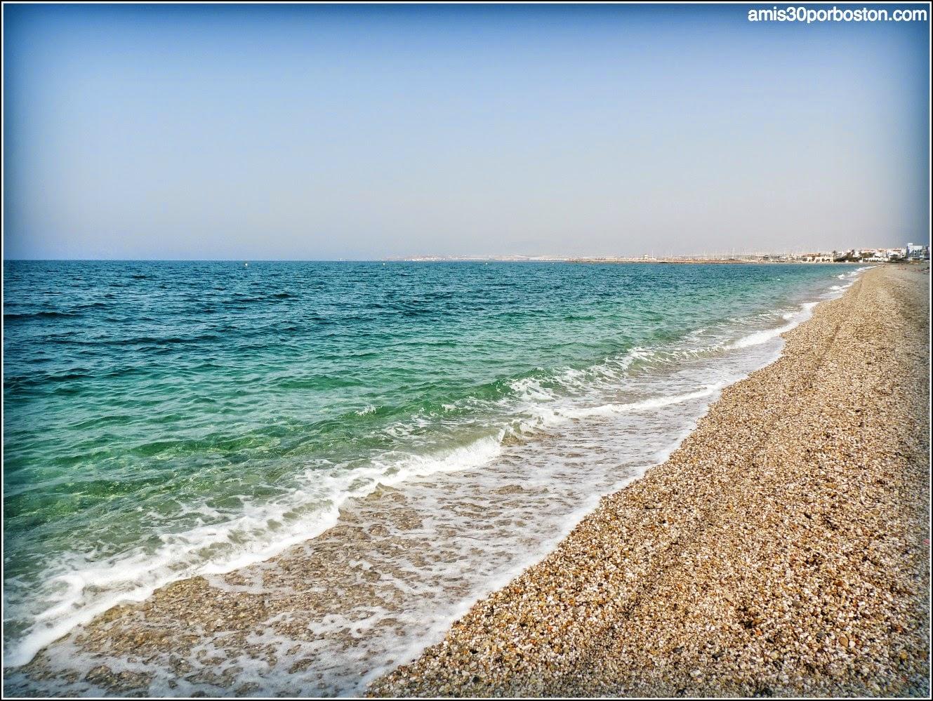 Mi playa de Almerimar en El Ejido