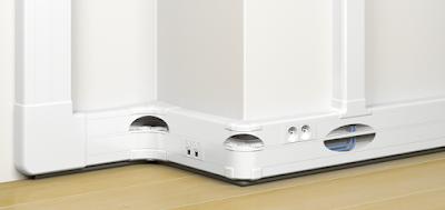 Instalaciones electricas residenciales - ducto evolutivo con tapa flexible 1