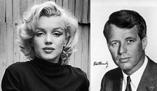 Marilyn Monroe y Robert Kennedy