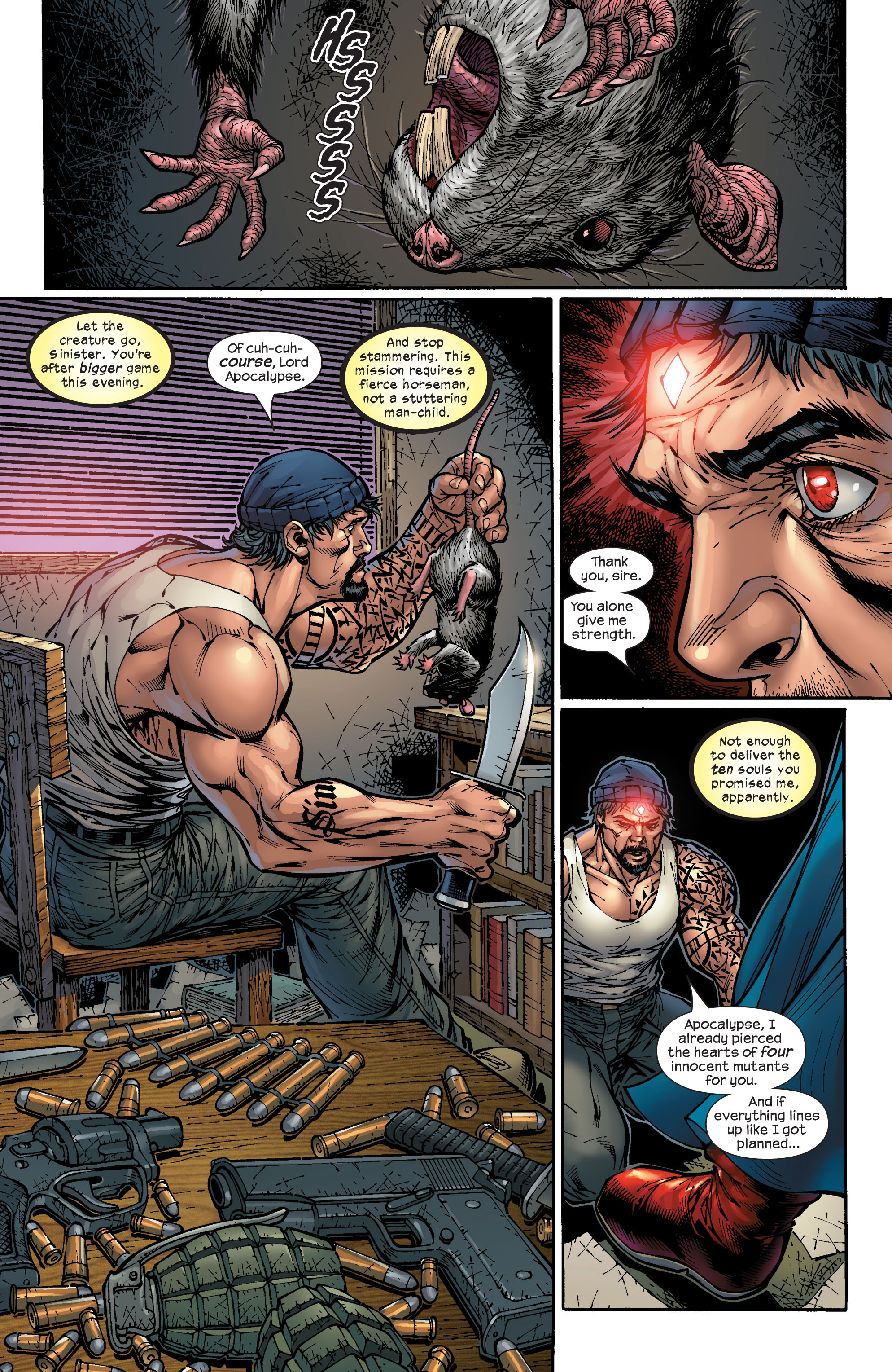 Read online Ultimate X-Men comic -  Issue #48 - 6