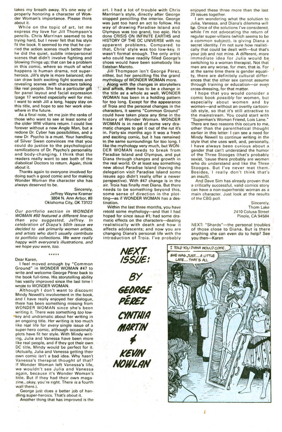 Read online Wonder Woman (1987) comic -  Issue #51 - 26