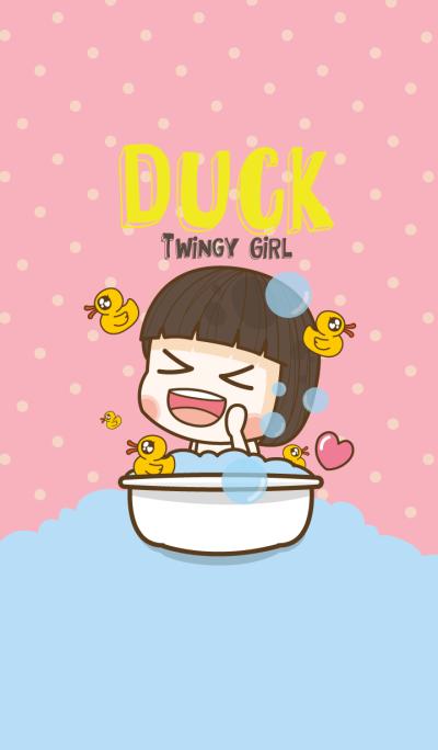 Duck Twinkle Girl