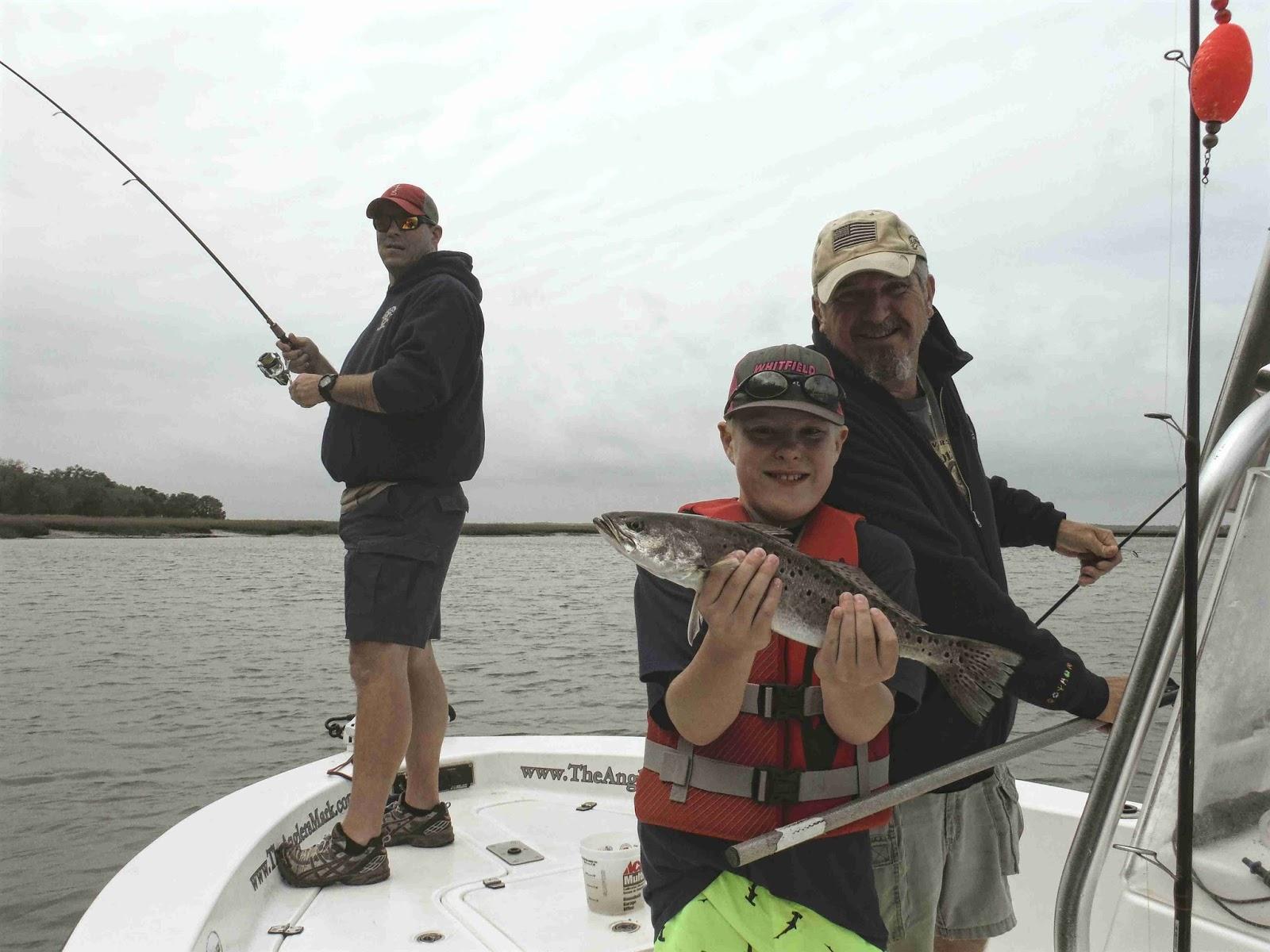 Amelia island fishing reports fishing before the blow for Amelia island fishing report