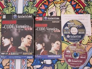 BIOHAZARD RESIDENT EVIL CODE VERONICA GC GAME CUBE NTSC JAPAN COMPLETO