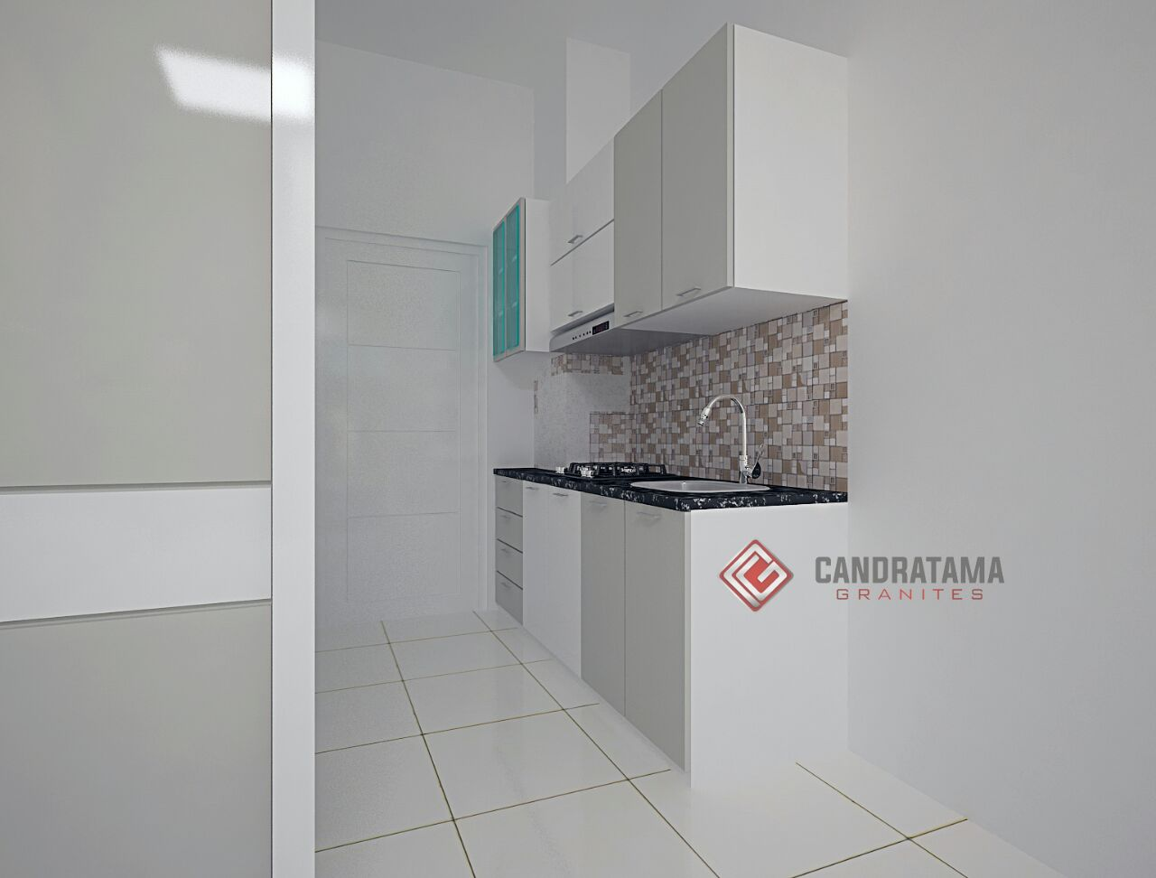 Kitchen set minimalis apartemen surabay dr jupri jasa for Design interior surabaya