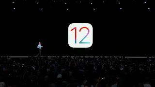 جانب من مؤتمر آبل للكشف عن IOS 12 لاجهزة الايفون والايباد