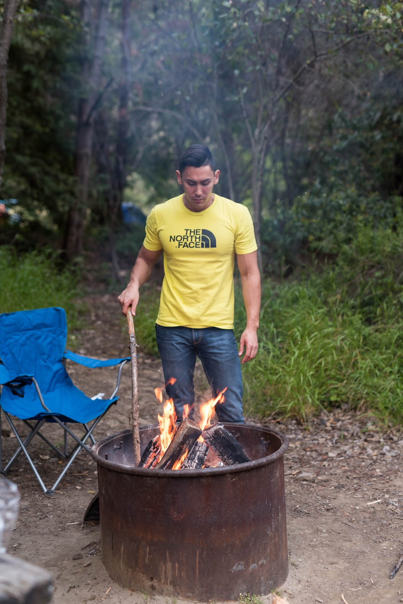 tips for camping in big sur, where to camp in big sur, best places to camp in big sur, big sur camping prices, monterey, big sur travel blogger, pfieffer state park, camp sites, camping couple,
