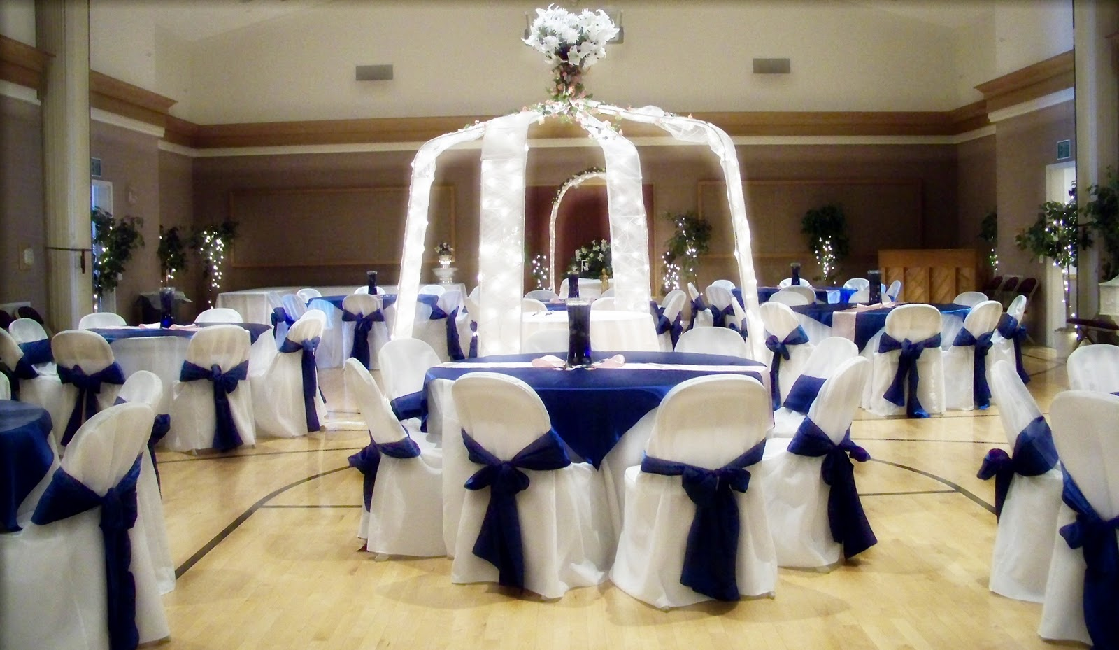 Blue Wedding Decorations: Runaway Bridal Planner: Wedding Decoration