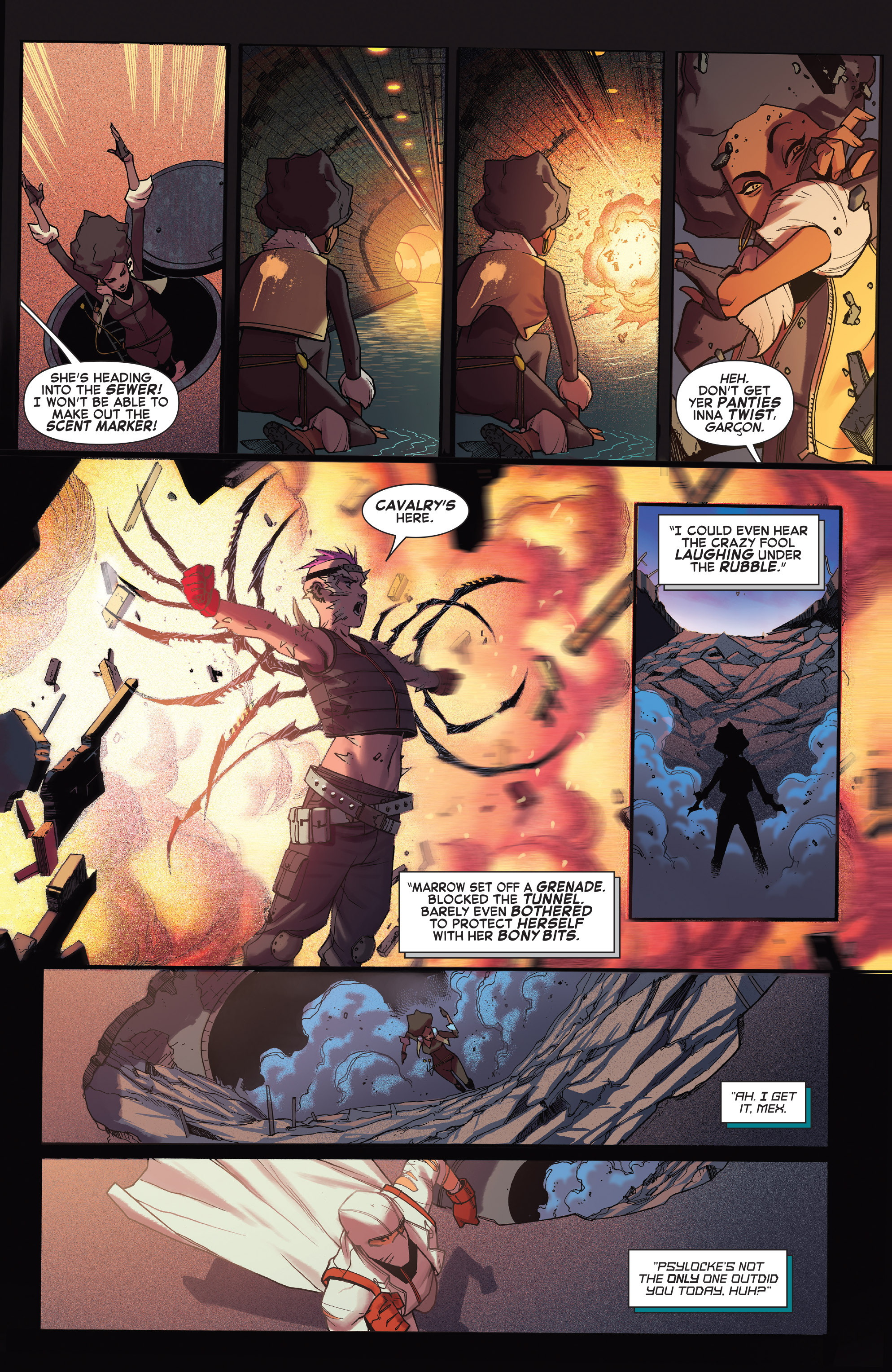Read online X-Force (2014) comic -  Issue #4 - 11
