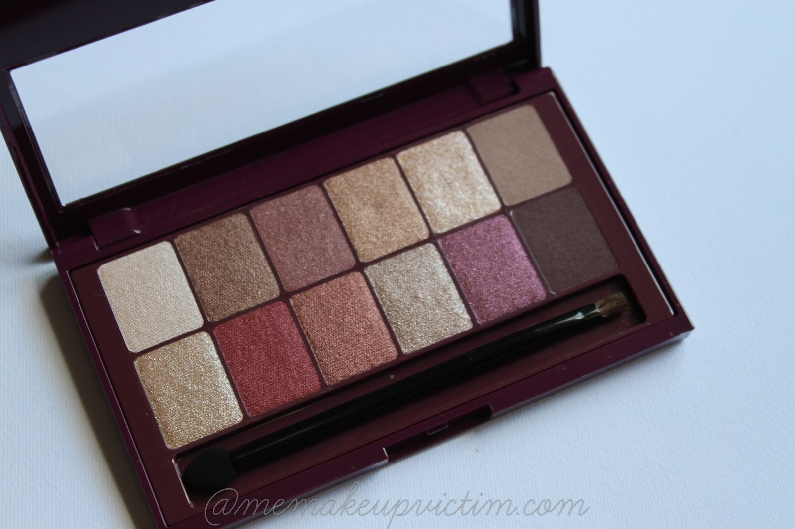 maybelline burgundy bar