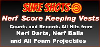 Nerf Score Keeping Vest