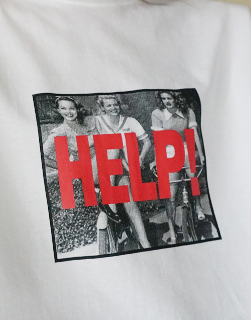 Help Vintage Graphic T-Shirt