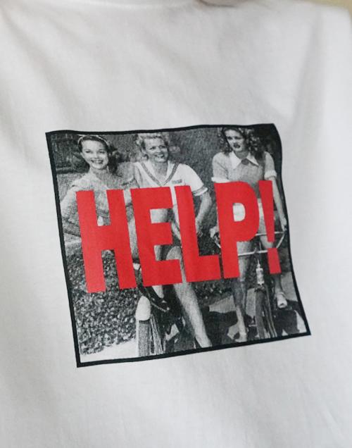 Help Vintage Graphic T-Shirt