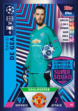 d399ced33 Topps - UEFA Champions League Match Attax 2018 19 (11) - LE1-LE15 - Limited  Edition