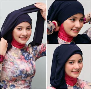 Foto Tutorial Hijab Simple