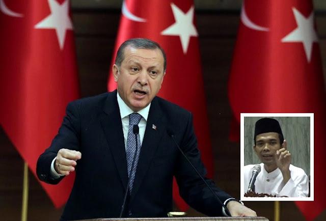 Selalu Tampil Bela Umat Islam, Siapa Erdogan Sebenarnya? Simak Ceramah Ustadz Abdul Somad ini