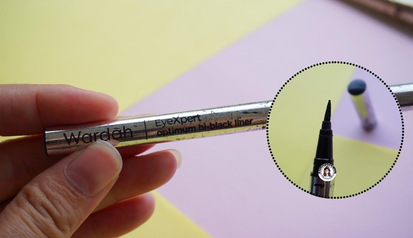 Product Review Rekomendasi Eyeliner Untuk Eyelid Berminyak Part1 Black Optimum Wardah Eyexpert Hi Liner