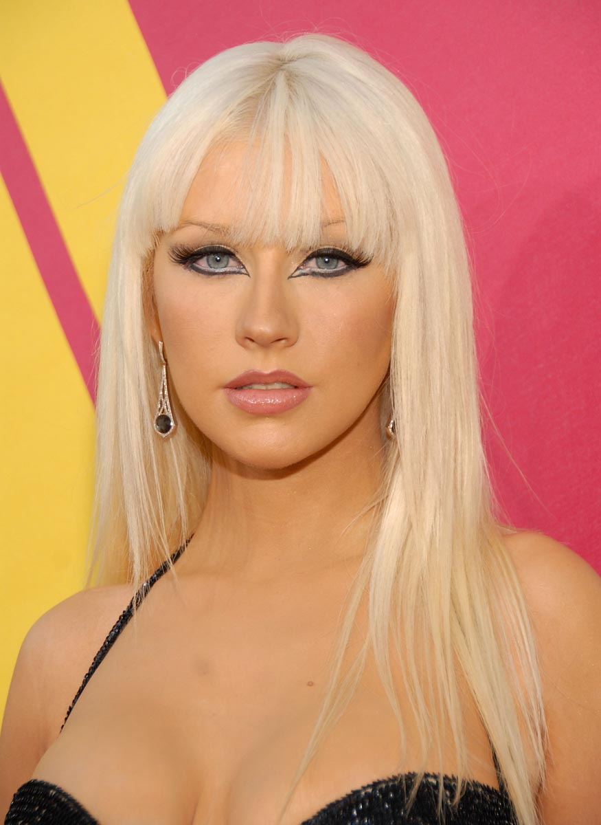 2012 Hairstyle Trends Christina Aguilera Hairstyles