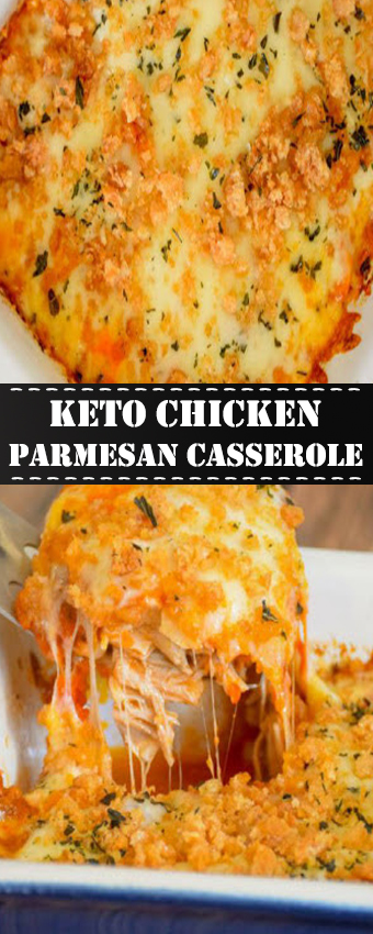 Keto Chicken Parmesan Casserole Recipe Healthy Recipes Clean Eating