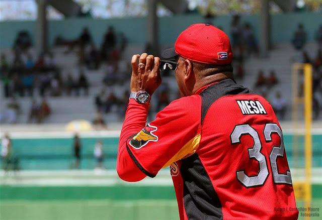 Víctor Mesa abrió los ojos a lo que pudiera haber redondeado a Matanzas como el mejor equipo  (en el papel) de la actual Serie Nacional Foto: Aslam Castellón Maure