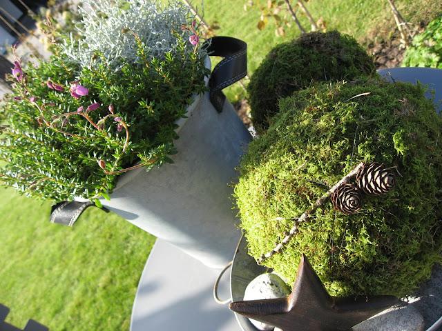 Tips til hvordan du lager osekuler - mosekuler sammen med høstkrukker. Furulunden.