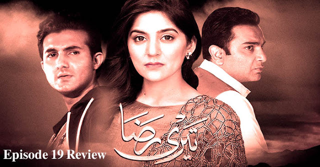 Pakistani Drama Serial Teri Raza Episode 19 Review