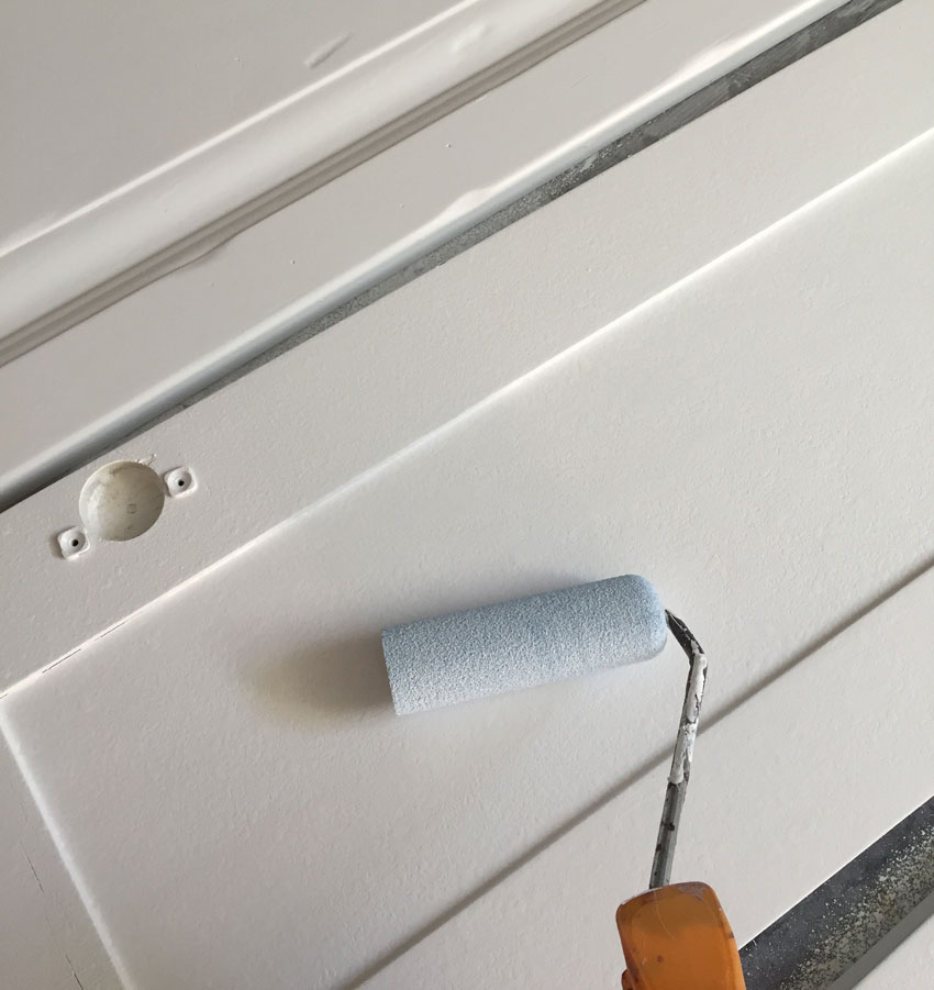 pintar muebles cocina esmalte al agua