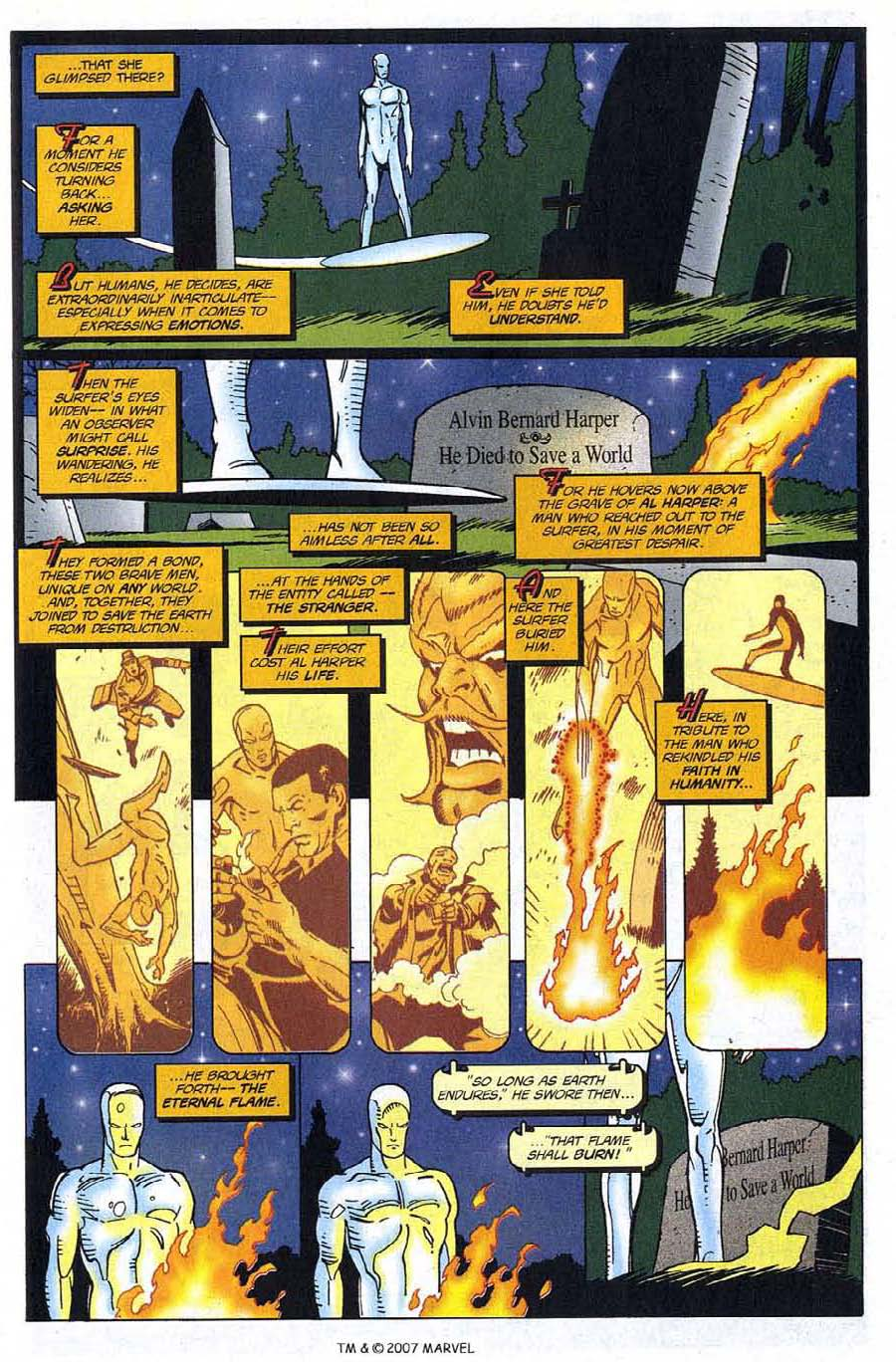 Read online Silver Surfer (1987) comic -  Issue #123 - 33